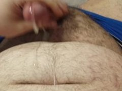 Chub small dick jerk off