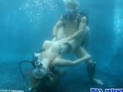 Diving and underwater sex