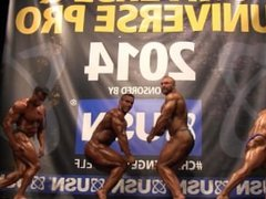 MUSCLEBULLS NABBA Universe 2014, Amateurs Overall - Comparison 2