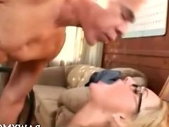 Cock Riding Blonde Porn Star