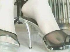 China webcam foot show!