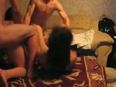 Fucking Eachothers GF In A Foursome