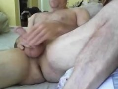 ManMuscles - Hairy Hardon Jerkoff