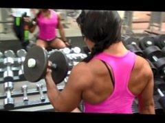 Sophie Arvebrink Young FBB Biceps Workout