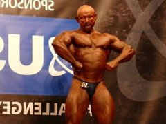 MUSCLEDAD Mick Dickmann - Masters Over 40 - NABBA Universe 2014