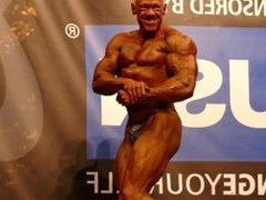 MUSCLEDAD Steve Johnson – Competitor No 11 - Masters Over 40 - NABBA Univer