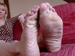 Czech Sexy Feet - Jelena Super Soles and Ticklish Feet