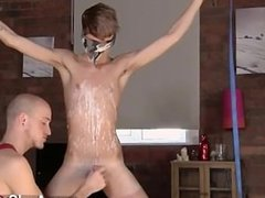 Male models Twink man Jacob Daniels is his recent meal, bound up and