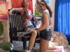 Anna Duct Taped and Tickled