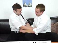 Mormon twinks strip off underwear for gay anal sex