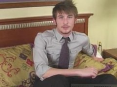 Naked men UK twink Justin is back in his 2nd video! Justin ditches his