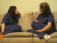 Nurse tickling (part 1)