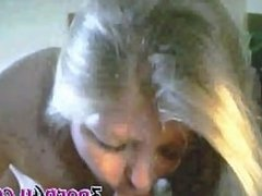 Amateur Blond Sucking Cock And Letting The Cum Run Out Of Her Mouth_(new)