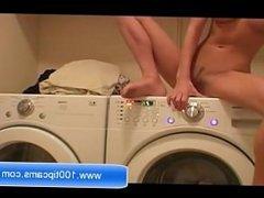 Sexy Mary Masturbating On Her Wash Machine Live On 100tipcams.com