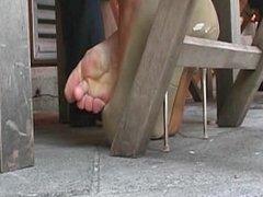 Toe-Wiggling On High Heels