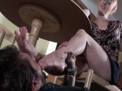 foot domination mistress lick