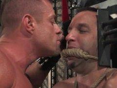 Master Tyler Saint and slave Jason Miller