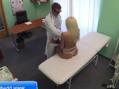 Blonde Fucking in the hospital