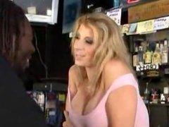 Sara Jay fucked on Bar - Best Scene Big Ass
