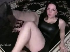Feet worship lesbian
