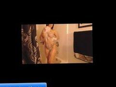 Brunette Renata sex masturbation in the bathroom