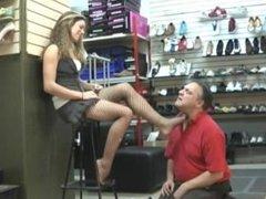 mistress feet fetish