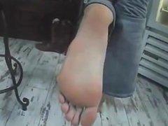 Big Feet Girl