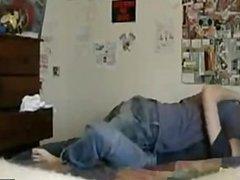 Girls makeout on webcam
