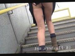 Skinny blonde DeeDees public nudity and flashing amateurs outdoor masturbat