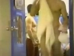 Hot naked guys in the locker room and in the shower