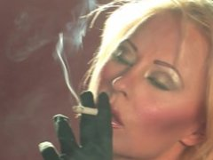 Terri Hawkes smoking