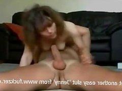 cock crazy milf slurps big dick