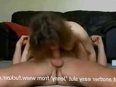 hot amateur milf sucks fat cock of internet stranger