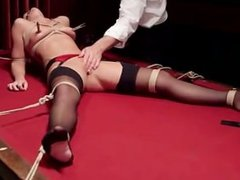 zoey monroe tied and made to squirt