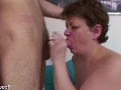 Mother fucks in Ass by friend from her son after school