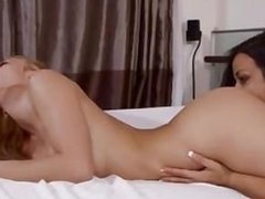 Ryan Ryans & Layla Sin - Hot Babes Lick Pussy In Bedroom