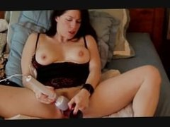 Webcam Milf Squirts 4 times