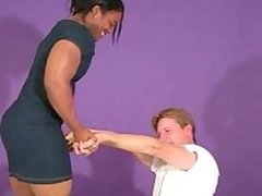 female test of strenght wrestling