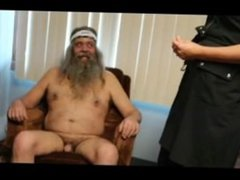Aiden humiliates Haakenson, kicks his nuts and watches him hump grapefruit