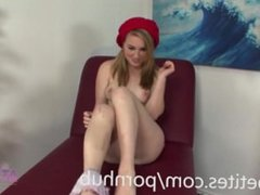 Jessie Parker Ravages Her Petite Pussy with a Vibrator