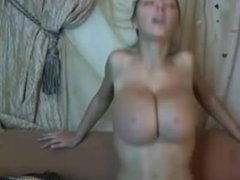Attractive french girl loves masturbating in front of her webcam