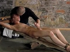 Gay fuck British lad Chad Chambers is his latest victim, confined and