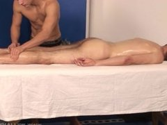 full body oily massage by a young handsome guy on another good looking dude