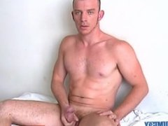 Casting x: Keri, french male serviced his huge cock !
