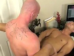 Hot gay scene After face plumbing and gobbling his ass, Mitch nails