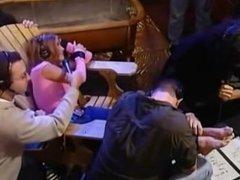 Carmen Electra's Feet Tickled
