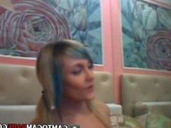 Grey hair teen strip at adult chatroom