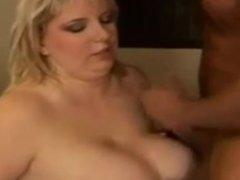 Sexy Blonde BBW Officer Fucks Perpetrator