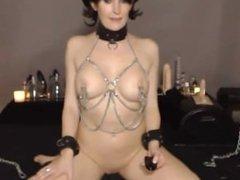 Kink submissive BDSM slave Heather loves pain