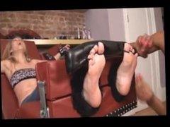 Dee Stock tickling
